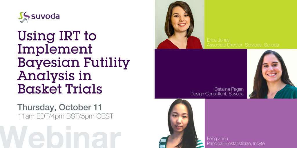Webinar - Using IRT to Implement Bayesian Futility Analysis in Basket Trials