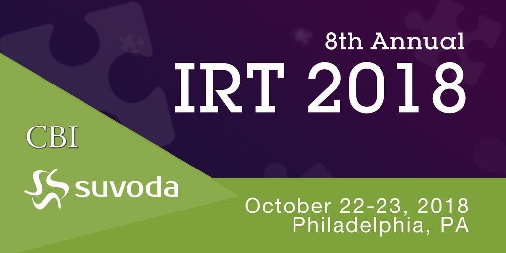 CBI's IRT 2018 Conference