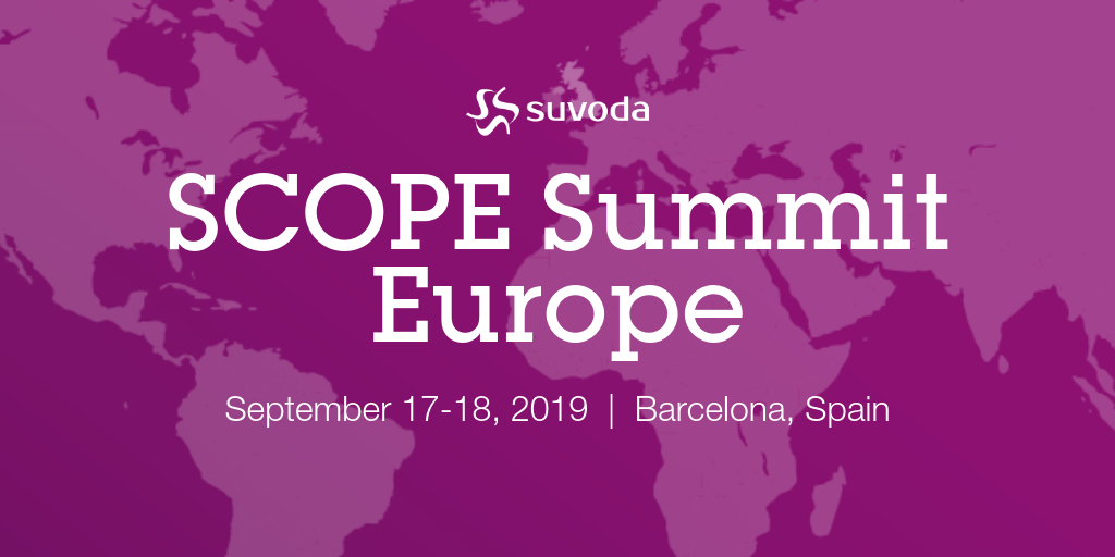 SCOPE Summit Europe 2019