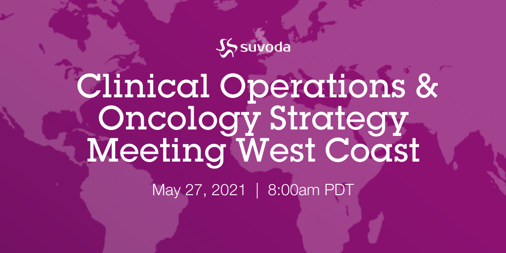 Clinical Operations & Oncology Strategy Meeting West Coast