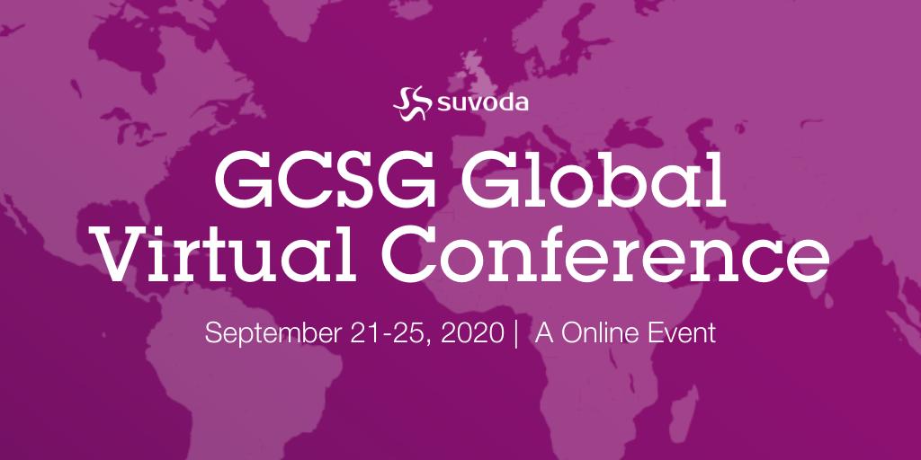 GCSG 2020 Global Virtual Conference