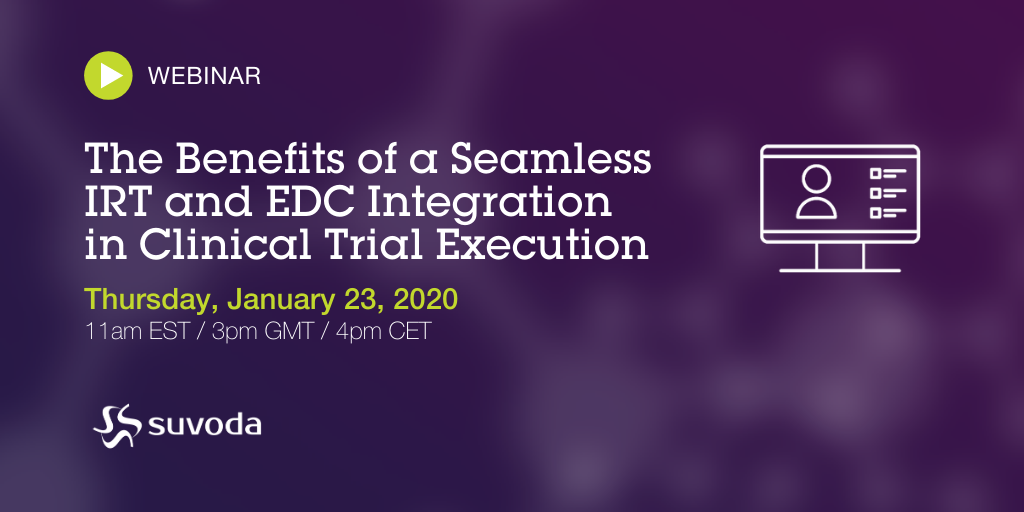 Webinar: The Benefits of a Seamless IRT and EDC Integration in Clinical Trial Execution