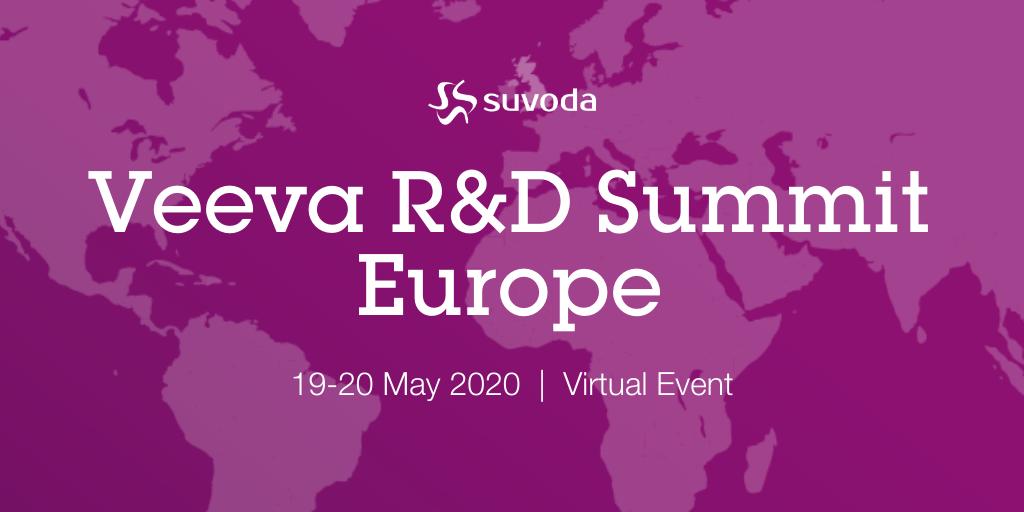 Veeva R&D Europe Summit Online