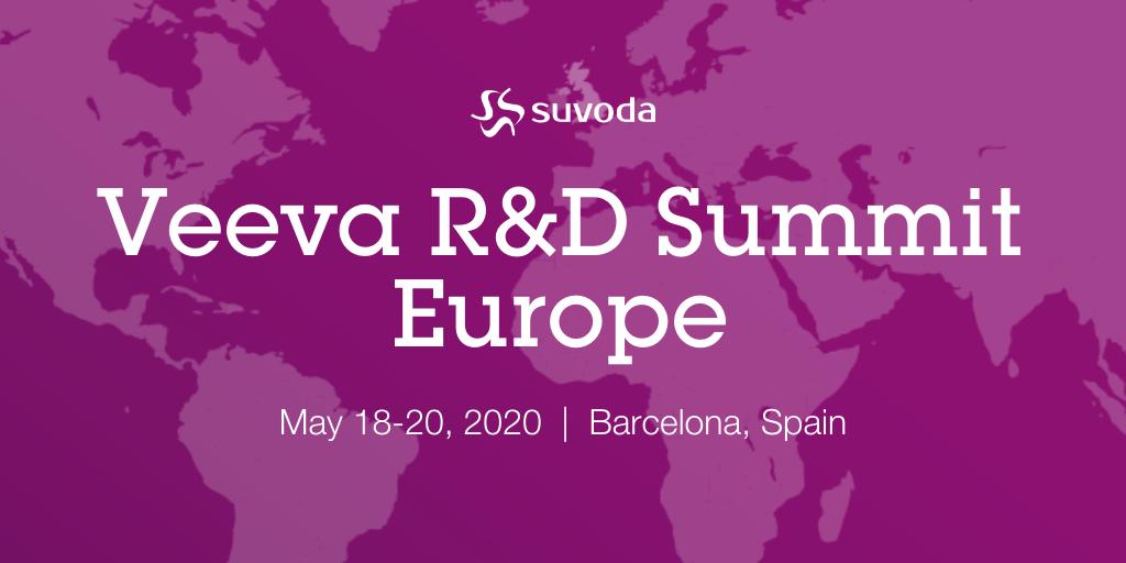 Veeva R&D Summit Europe