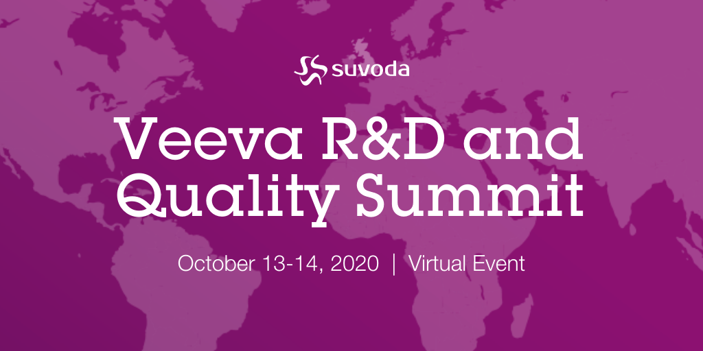 Veeva R&D and Quality Summit Online