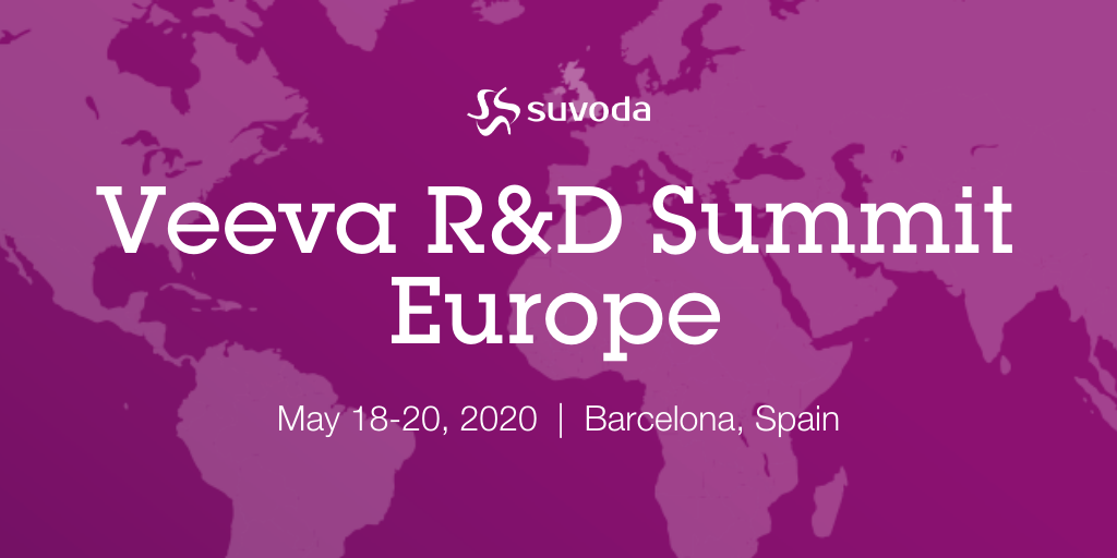 Veeva R&D Summit Europe